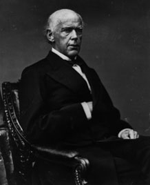 Secretary of the Treasury Salmon P. Chase
